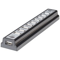Manhattan 10-port Usb 2.0 Desktop Hub