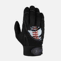 Ripped Baseball Batting Gloves