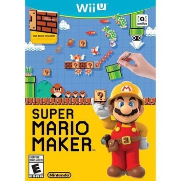 Super Mario Maker - Nintendo Wii U - Email Delivery