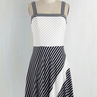 Athletic Mid-length Sleeveless A-line I Get a Mix Out of You Dress by ModCloth