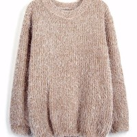 Mindy Mohair Pullover Sweater