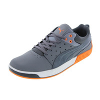 Puma Mens Street Lo Leather Low Cut Casual Shoes