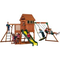 Backyard Discovery Montpelier All Cedar Playset-30211com - The Home Depot