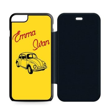 Emma Swan Leather Wallet Flip Case iPhone 6 Plus | 6S Plus
