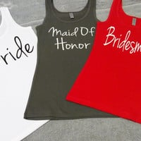 team bride shirts,,bridal tank tops,bridal top,wifey shirts, bridal shirts,bridesmaids gifts,wedding tanks,wedding shirts,bridesmaid tanks