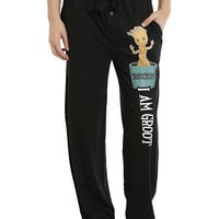 Marvel Guardians Of The Galaxy Baby Groot Guys Pajama Pants