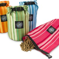 Planet Dog On the Go Weekender Feedbag, Forest Green