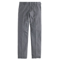 J.Crew Mens Ludlow Suit Pant In Heathered Italian Wool Flannel