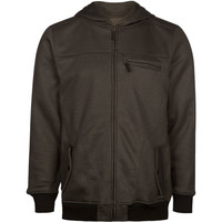 Elixir Herringbone Mens Jacket Charcoal  In Sizes