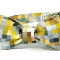 Fall It Is Pixelated Bow Tie