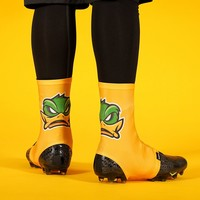 Mad Duck Yellow Spats / Cleat Covers