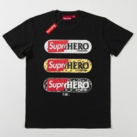 Cheap Women's and men's supreme t shirt for sale 85902898_0145