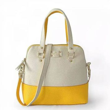 Gotopfashion Kate Spade Women Shopping Leather Handbag Tote Satchel bag""