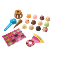 Kids Ice Cream Stack Up Play Toy Baby Simulation Food Toy baby kid plastic kitchen toys simulation food toy Gift for Chilren