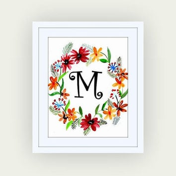Attractive Best Monogram Letter Wall Decor Products on Wanelo PZ82