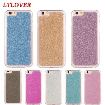 Fashion cute Bling Glitter coque fundas IMD soft tpu case For apple iphone 5C cases mobile phone shell back cover funda