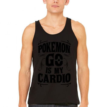 pokemon go is my cardio tank top