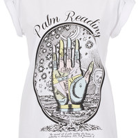 Palm Reading Tee By Tee And Cake - Jersey Tops - Clothing - Topshop