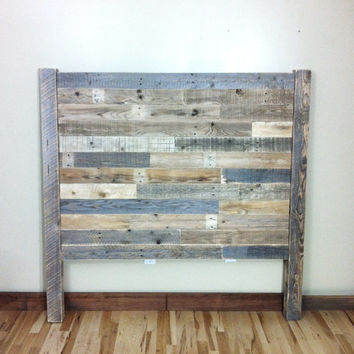 Reclaimed Wood, Headboard, Barn Wood, Pallet, Furniture, Headboards, King  Headboard