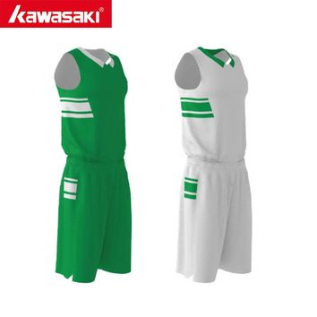 Kawasaki Men Women Basketball Jersey Sets Uniforms Breathable Custom Reversible Basketball Sports Jerseys Basketball Shorts