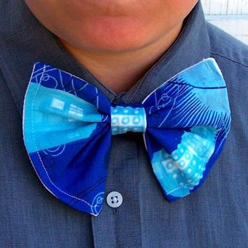 Dr Who Bow Tie Dalek Tardis Licensed Fabric Reconstruction