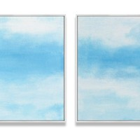 Ilana Greenberg, Daydreams Diptych