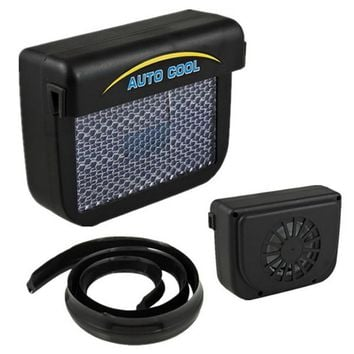 Auto Fan Solar Power Car Window Fan Cooler