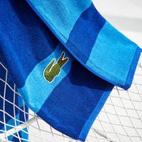 Lacoste Signature Logo Bath Towel, 100% Terry Cotton | macys.com