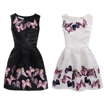 LL Butterfly Children's Dress 6 to 12yrs