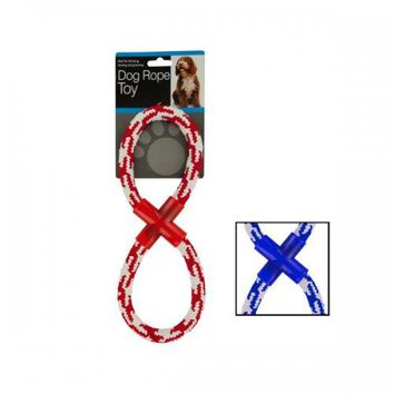 Woven Figure Eight Dog Rope Toy