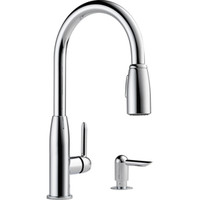 Shop Peerless Chrome 1-Handle Pull-Down Kitchen Faucet at Lowe's