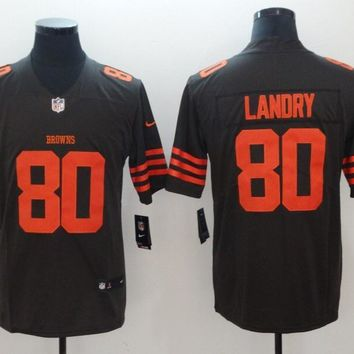 Cleveland Browns 80 Jarvis Landry Color Rush Limited Jersey Brown