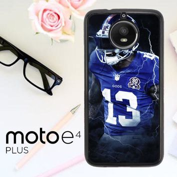 Odell Beckham Jr New York Giants X5642 Motorola Moto E4 Plus Case