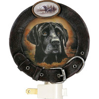 Black Lab Portrait Nightlight