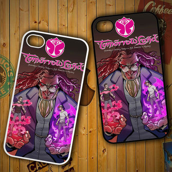 tomorrowland logo Y0882 LG G2 G3, Nexus 4 5, Xperia Z2, iPhone 4S 5S 5C 6 6 Plus, iPod 4 5 Case