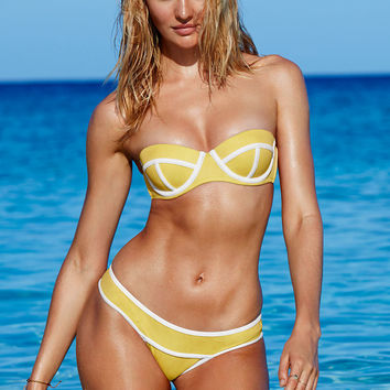 Banded Colorblock Bottom - Victoria's Secret Swim - Victoria's Secret