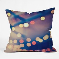 Shannon Clark Pretty Lights Throw Pillow