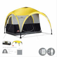 Coleman 2000014337 2 for 1 All Day Dome & 2 Person Tent