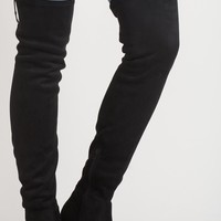 Rashelle Black Over the Knee Boot by Chinese Laundry
