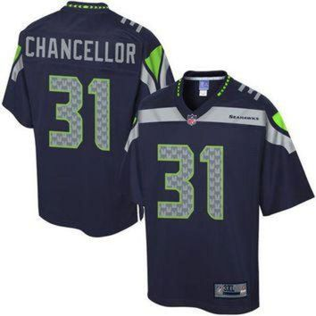 PEAPYD9 NFL Pro Line Men's Seattle Seahawks Kam Chancellor Big & Tall Team Color Jersey