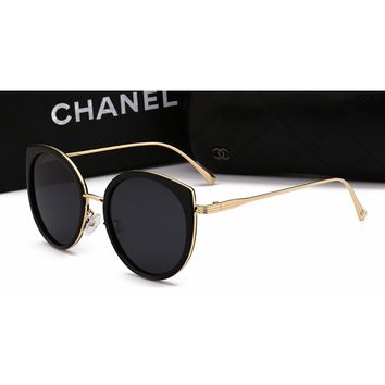 Chanel  Women Casual Sun Shades Eyeglasses Glasses Sunglasses
