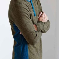 BDG Winterlight Henley Curved Hem Shirt-