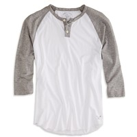 AEO Men's Baseball Henley