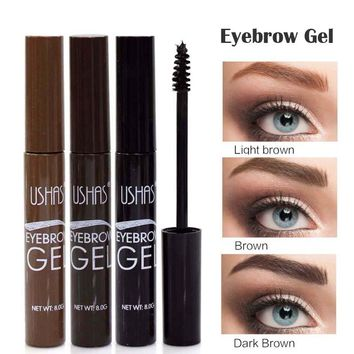 Brand Brown Color Eyebrow Enhancers Eye Brow Tint Gel Waterproof Makeup Pigments Henna Eyebrow Paint Cream Cosmetics