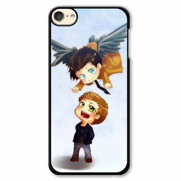 Supernatural Destiel Fanart iPod Touch 6 Case