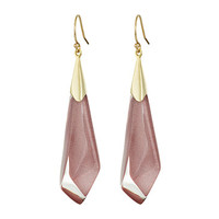 Alexis Bittar Faceted Wire Earrings