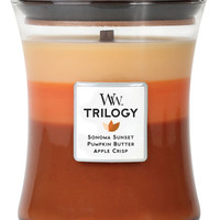 WoodWick Harvest Trilogy Autumn Comforts Medium Candle - Candles & Home Fragrance - Macy's