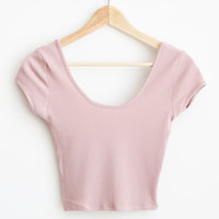 Becca Crop Tee - More Colors