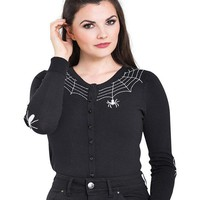 Spider [Black] | CARDIGAN