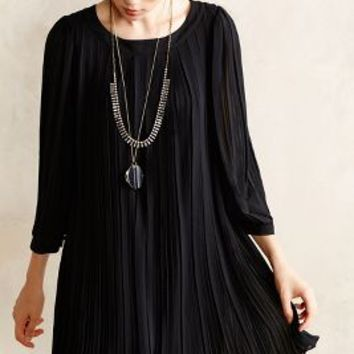 Pleated Millie Swing Dress